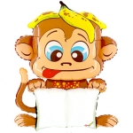 B-pad balloon.Cheeky Monkey - 110CM - 413WE-P
