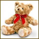 Bear.Traditional.w/ribbon - 20cm - SB5436