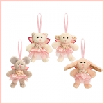 Belle Rose.Wrist Dangly.4pcs - 8cm - SF4855-4