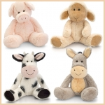 Farm.Flopsy Friends.4 Pcs - 25cm - SR3344-4
