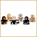 Monkeys.Mini.6 Pcs - 16cm - SW0083-6
