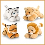 Cats.Laying Wild.4 Pcs - 15cm - SW0148-4