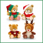 Pip the Bear.Christmas.4 pcs - 14cm - SX0490-4