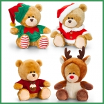 Pip the Bear.Christmas.4 pcs - 20cm - SX0491-4