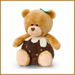 Pip the Bear.Christmas.w/ Pud - 14cm - SX0492