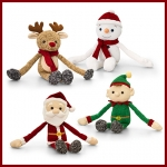 Christmas.Knitted Dangly.4pcs - 20cm - SX0500-4