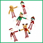 Christmas.Hanging characters.6pcs - 12cm - SX5062-6