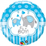 It's a Boy Elephants - 45cm - 45109