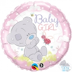 Tiny Tatty Teddy Baby Girl - 45cm - QU-28170