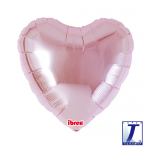 Standard Heart.metallic light pink - 45cm - 0201311102