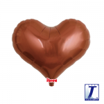 Jelly Heart.metallic brown - 35cm - 0201313313