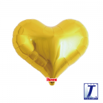 Jelly Heart.metallic gold - 35cm - 0201313307