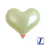 Jelly Heart.metallic ivory - 35cm - 0201313312