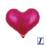 Jelly Heart.metallic magenta - 35cm - 0201313310