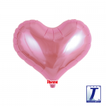 Jelly Heart.metallic pink - 35cm - 0201313316