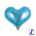 Jelly Heart.metallic light blue - 35cm - 0201313308