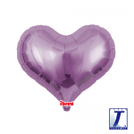 Jelly Heart.metallic lavender - 35cm - 0201313311