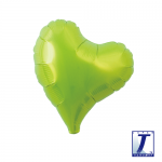 Sweet Heart.metallic lime green - 18cm - 10pcs  - 0201910609