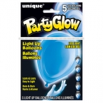 Light Up Balloons.twilight blue - 5pcs - UN54773