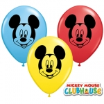 QU.05.Disney.Mickey Mouse Face Ast - 100pcs - 45336