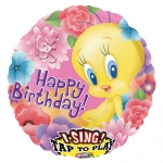 Singing balloon.Tweety Happy Birthday - 80cm - 23492