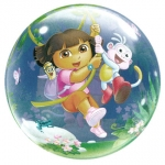 Single bubble.Dora Explorer & Boots - 55cm - 65578