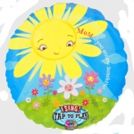Singing balloon.Mom U R my Sunshine - 71cm  - 15268