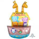 Multiballoon.Baby Shower Noahs Ark - 109cm - 34244