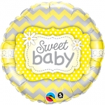Sweet Baby Yellow Patterns - 45cm - 25856