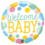 Welcome Baby Dots - 45cm - 55391
