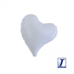 Sweet Heart.metallic white - 18cm - 10pcs - 0201910603