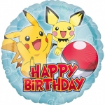 Happy Birthday Pikachu - 45cm - 36333