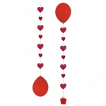 Balloon Tail.Hearts - 3pcs  - 9902238