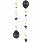 Balloon Tails.Stars - 3pcs  - 9902240