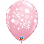 Party Pack.Baby Girl Pink Dots - 6pcs - 57603