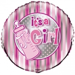 It's a Girl Bottle - 45cm - UN54413