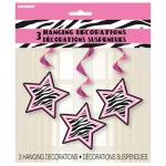 Hanging Swirls.Zebra Passion.Decoration - 66cm - UN43379