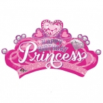 Princess Crown & Gem - 81cm - 34571