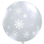 QU.40.Snowflakes Diamond Clear - 2pcs - 69699