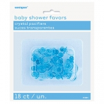 Pacifiers.Crystal Blue - 2,5cm - UN13641