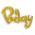 Scriptballoon.Birthday.gold - 92cm - 15759-36