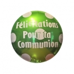 Communion.Polka Dots.Lime Green - 45cm - IBS11615