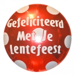 Lentefeest.Polka Dots.Ruby Red - 90cm - IBS15305