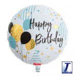Happy Birthday Balloons - 35cm - 5pcs - 0201213104