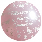 QU.16.Communion.papillons.pearl pink - IB-11487