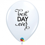 QU.11.Simply The Best Day Ever.white* - 25pcs - 89445