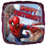 Spiderman Animated Happy Bday - 45cm - 34664