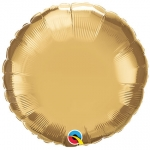 Chrome Gold Round - 45cm  - 89534