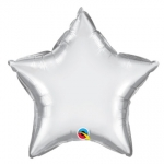 Chrome Silver Star - 50cm  - 89654