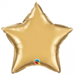 Chrome Star Gold - 50cm  - 89657